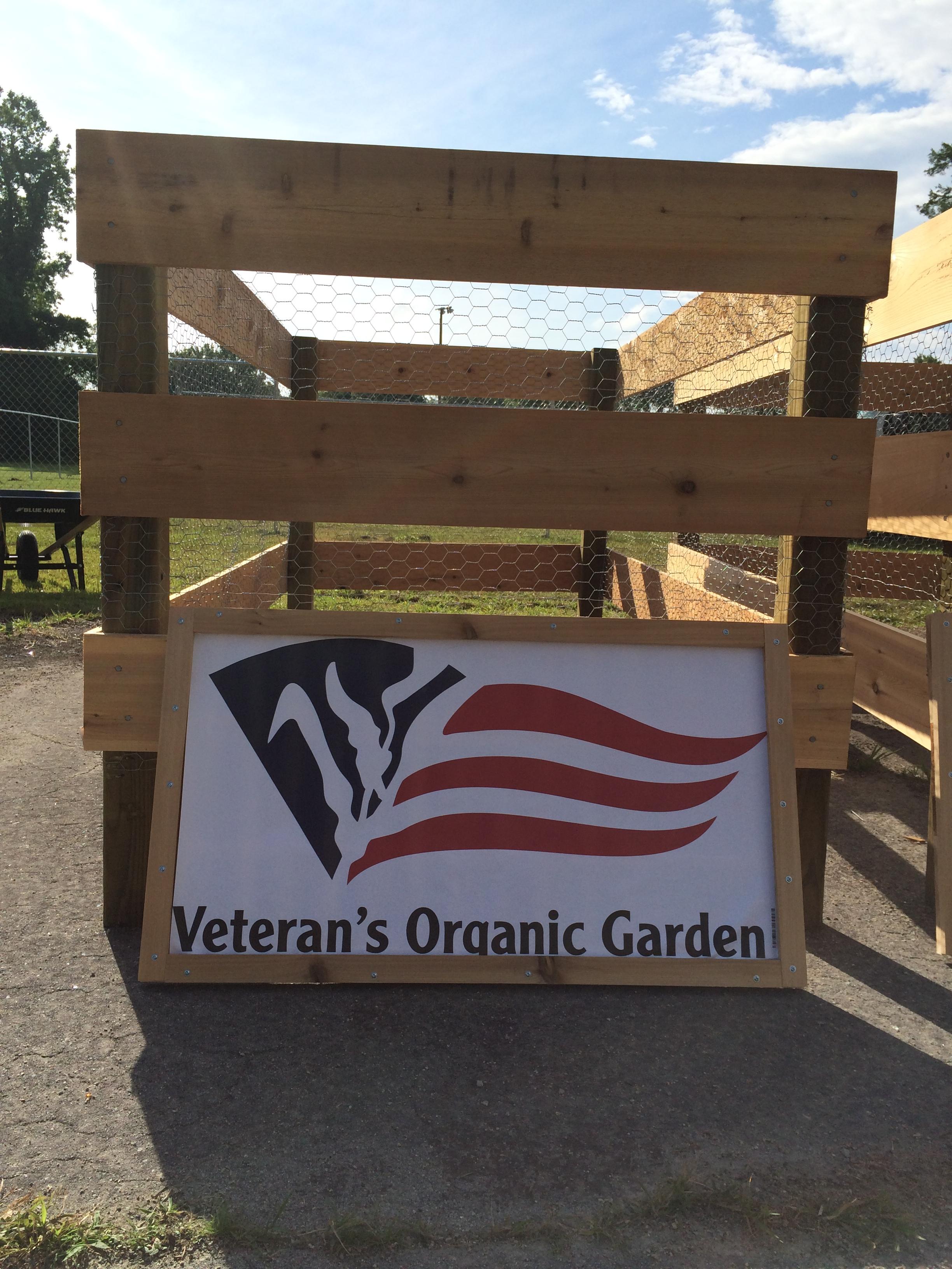 Veterans Organic Garden