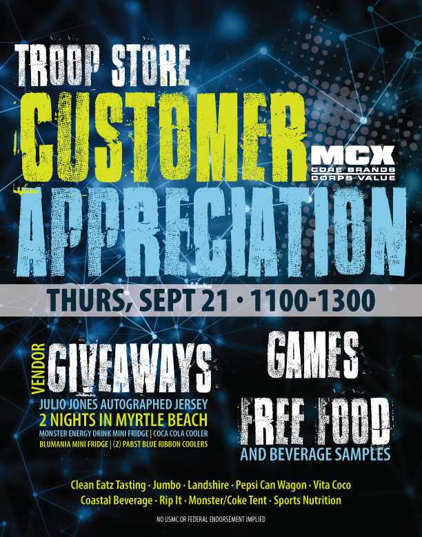 Troop Store Appreciation Day