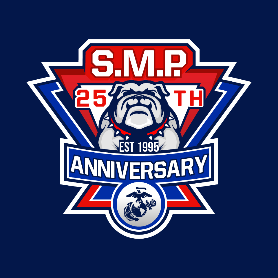 Single Marine Program 25th Anniversary Logo